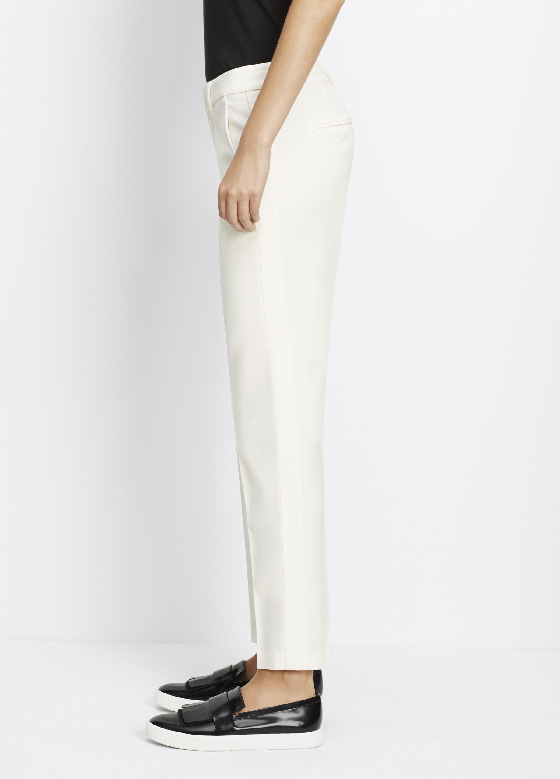 Classic Side Strapping Pant For Women Vince