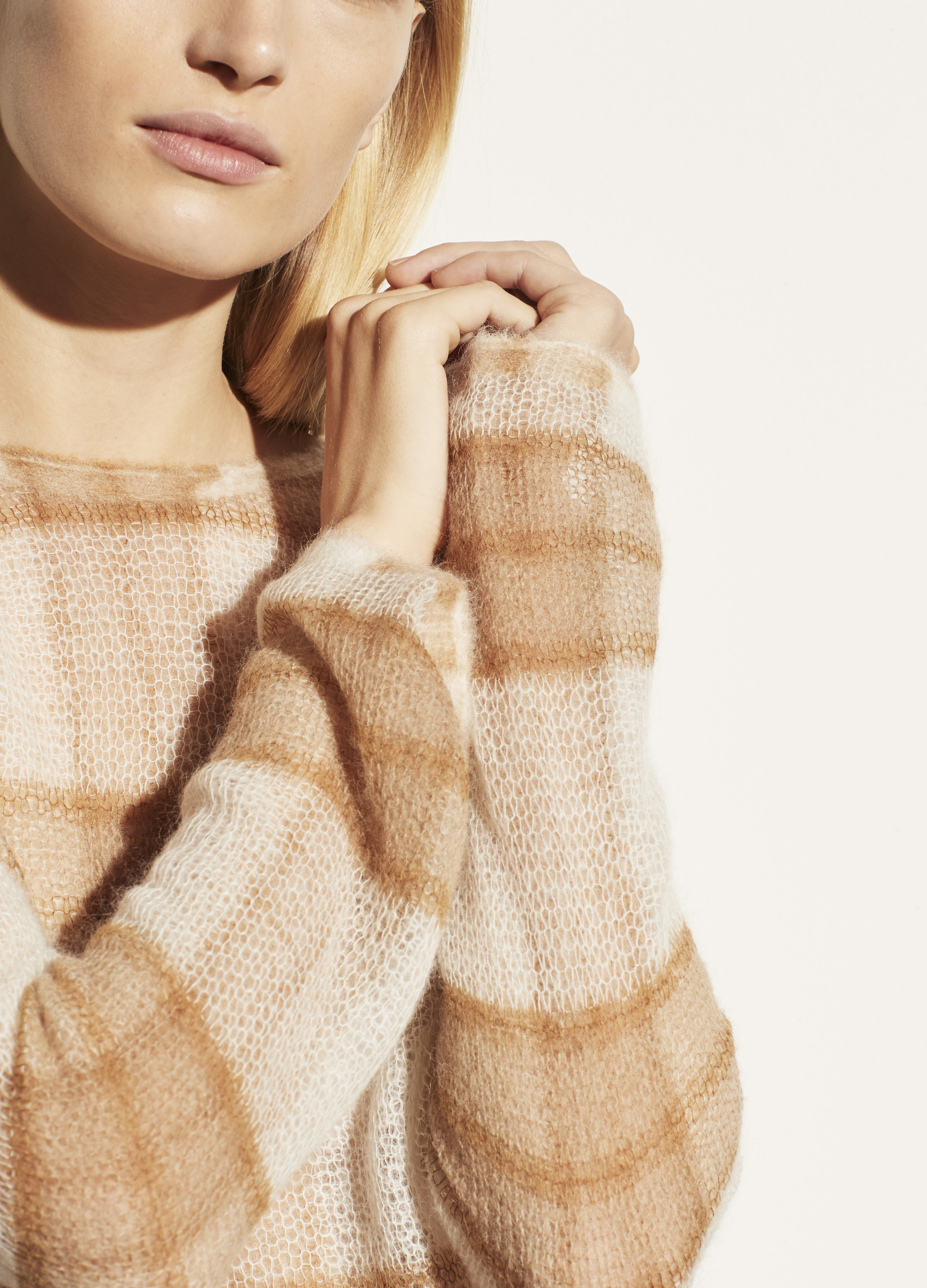 Brushed Plaid Pullover