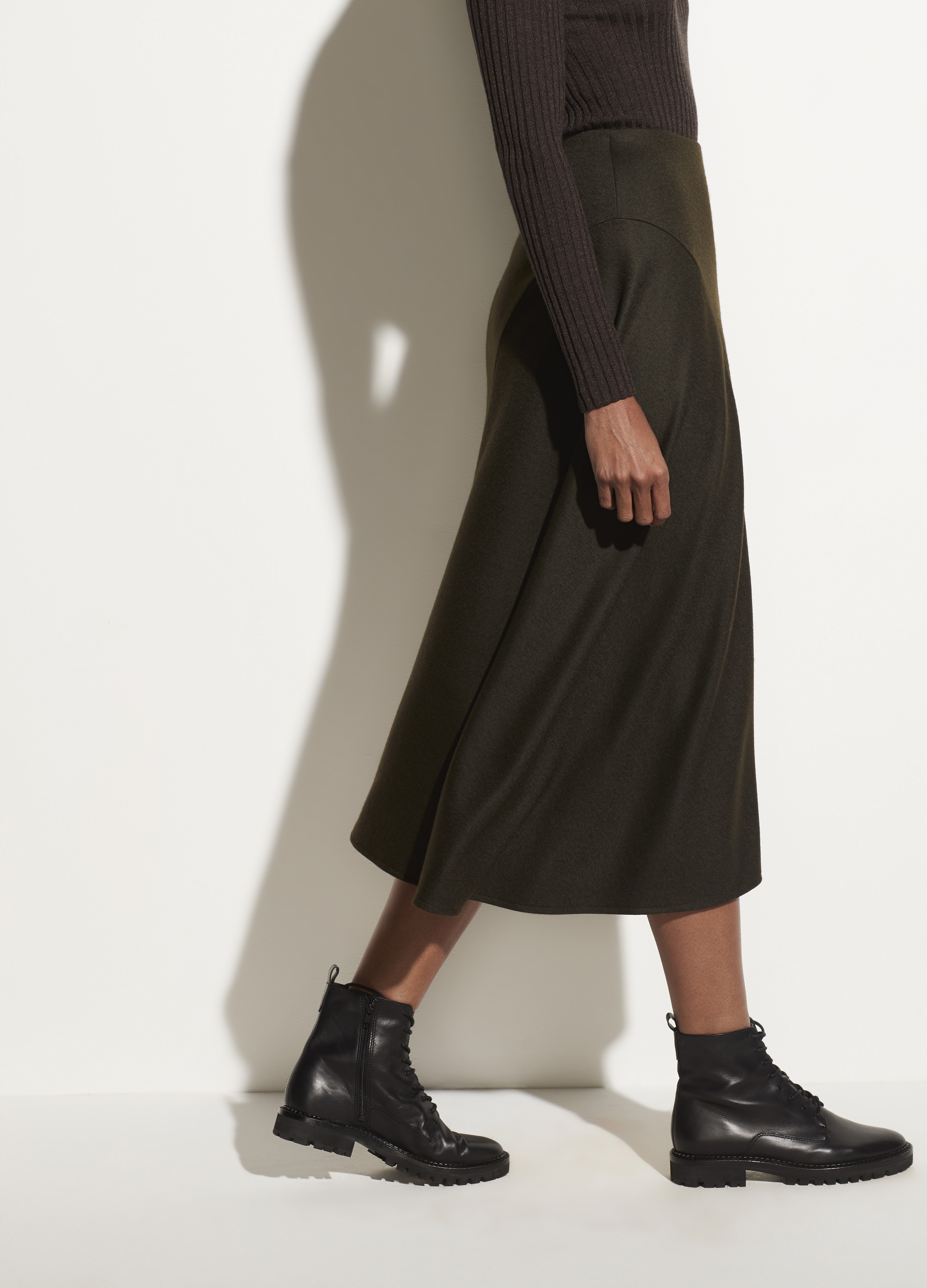Cozy Asymmetric Skirt