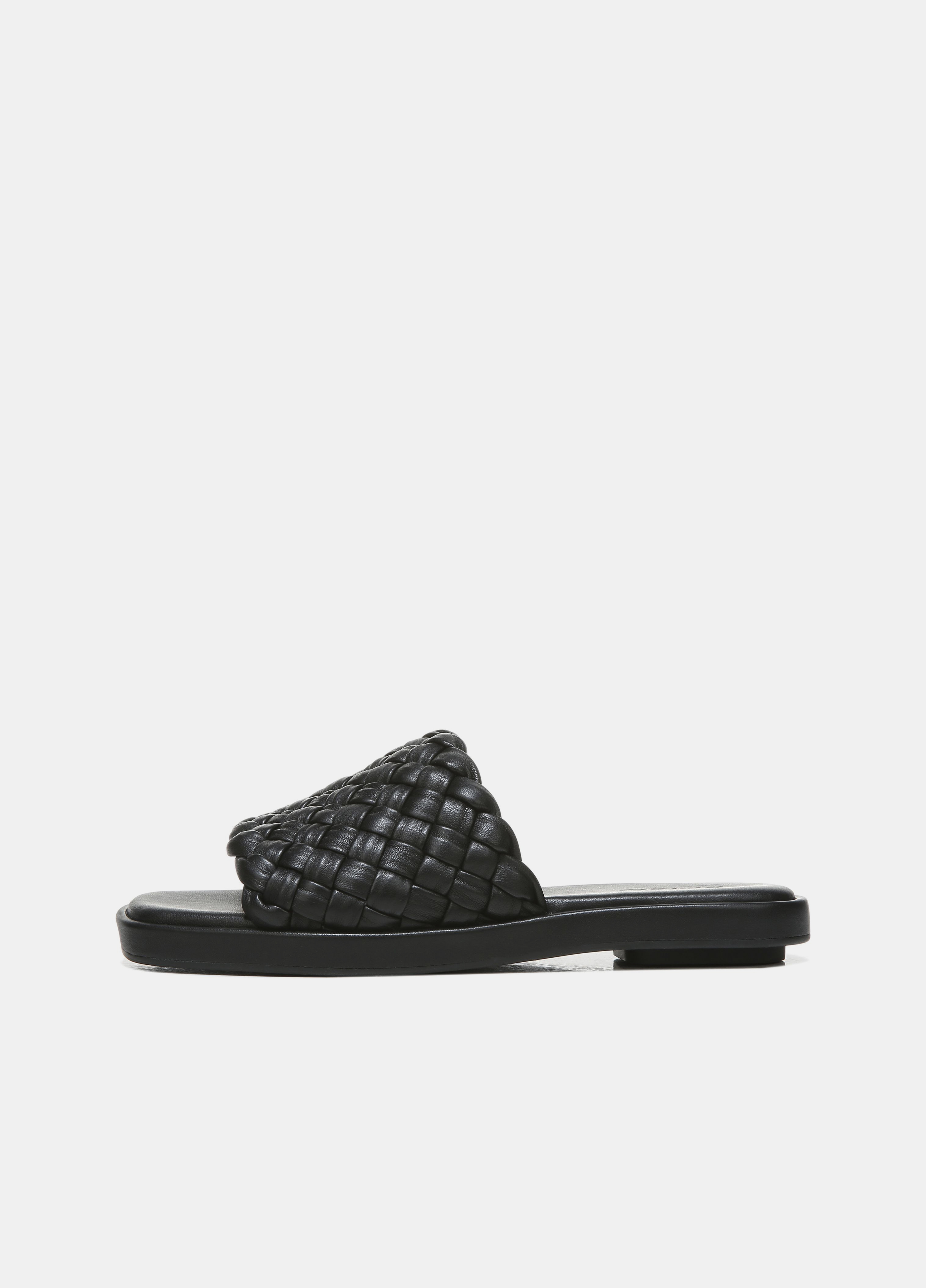 Rumi Woven Leather Slide