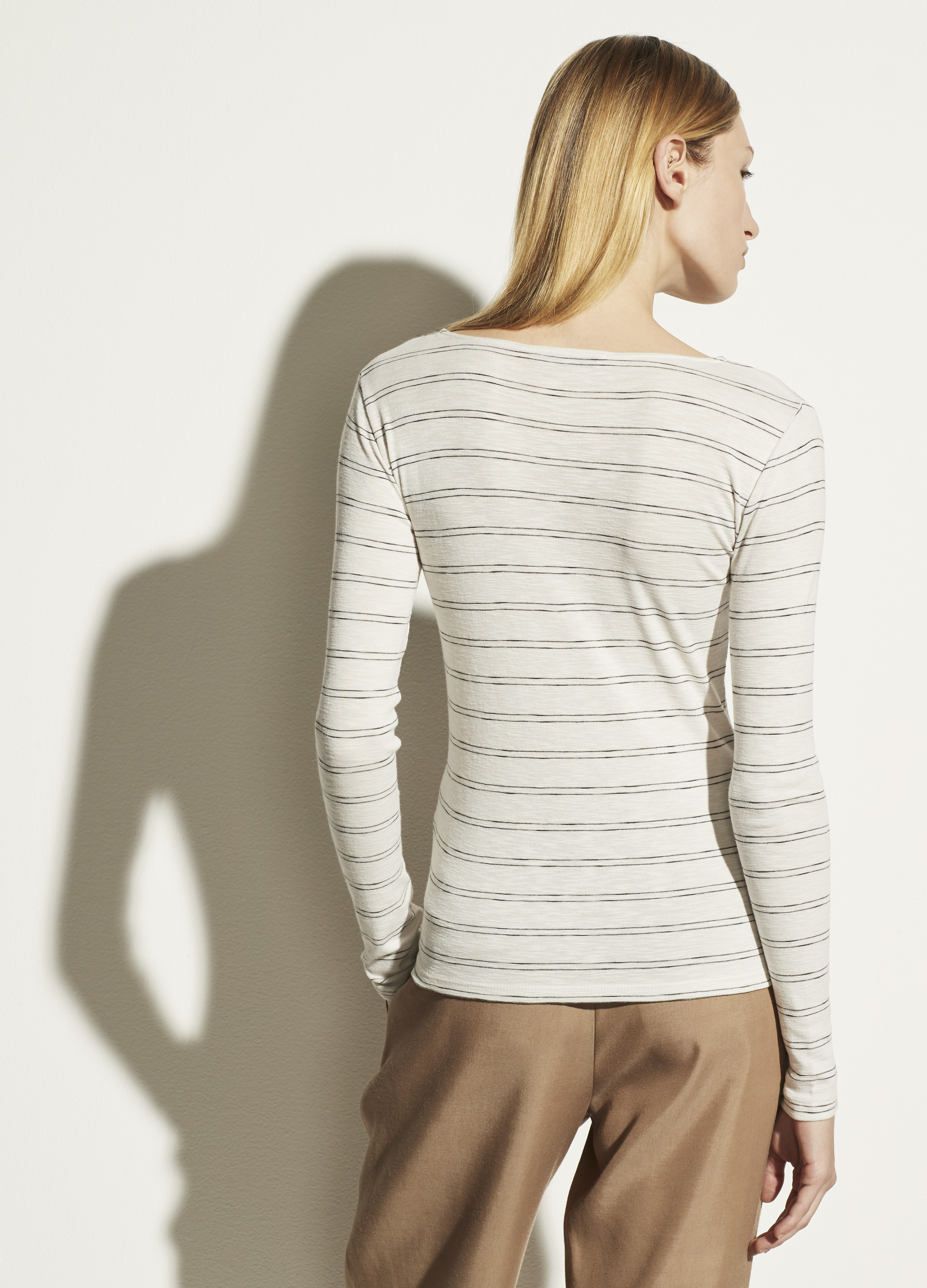 Double Pinstripe Long Sleeve