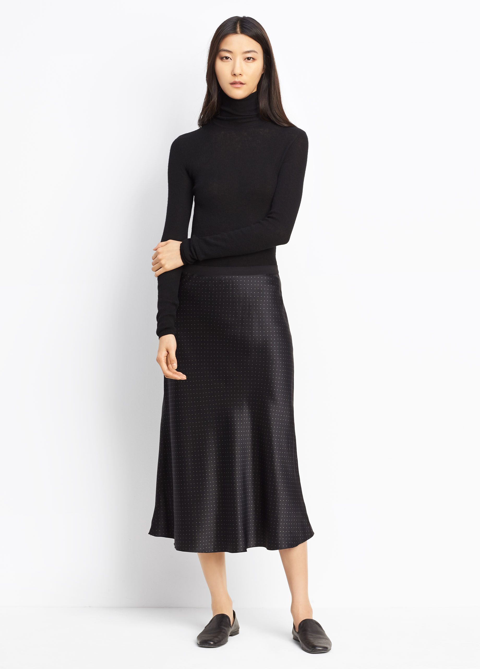 Cashmere Boxy Turtleneck