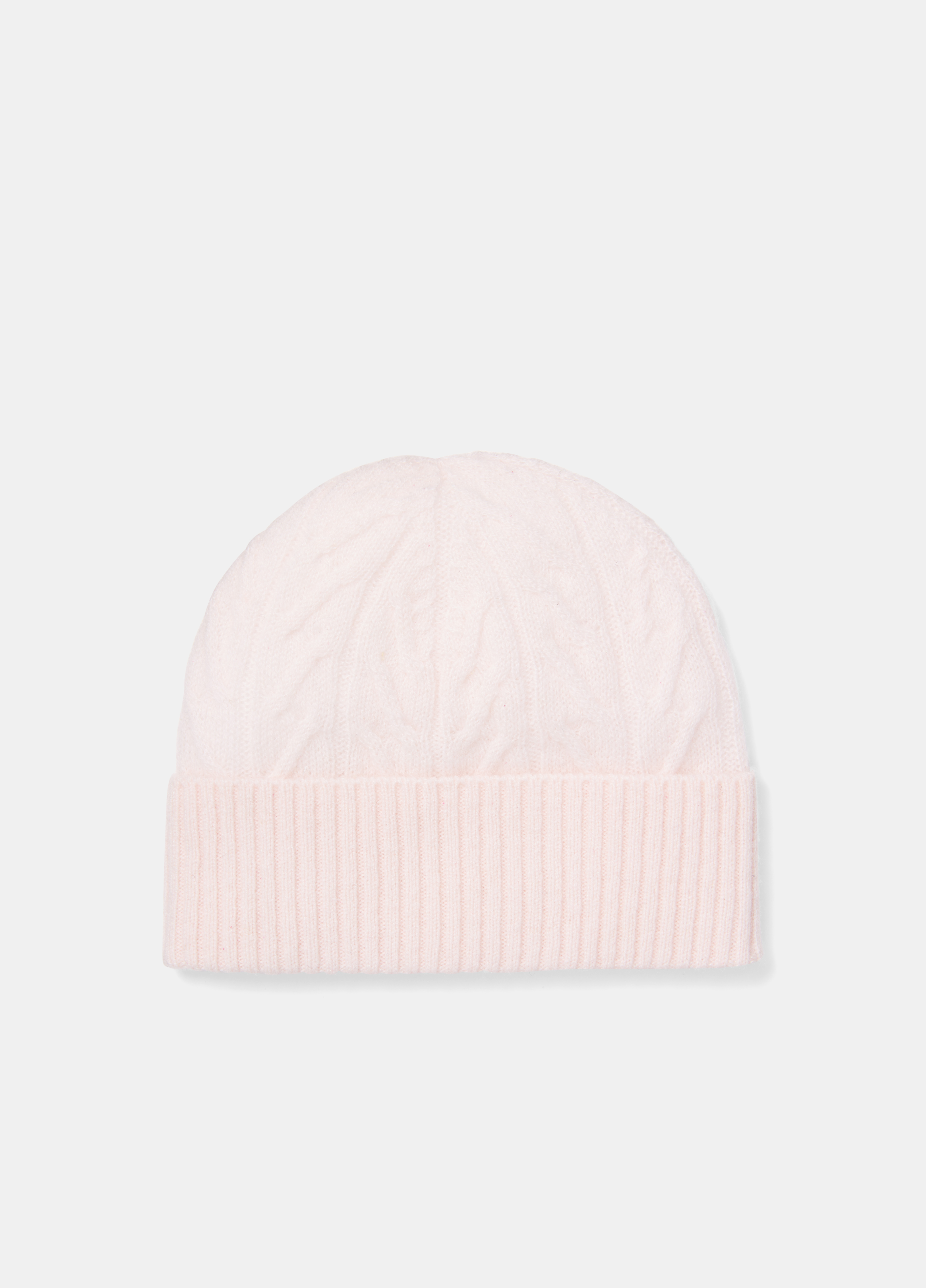 Cashmere Cable Beanie