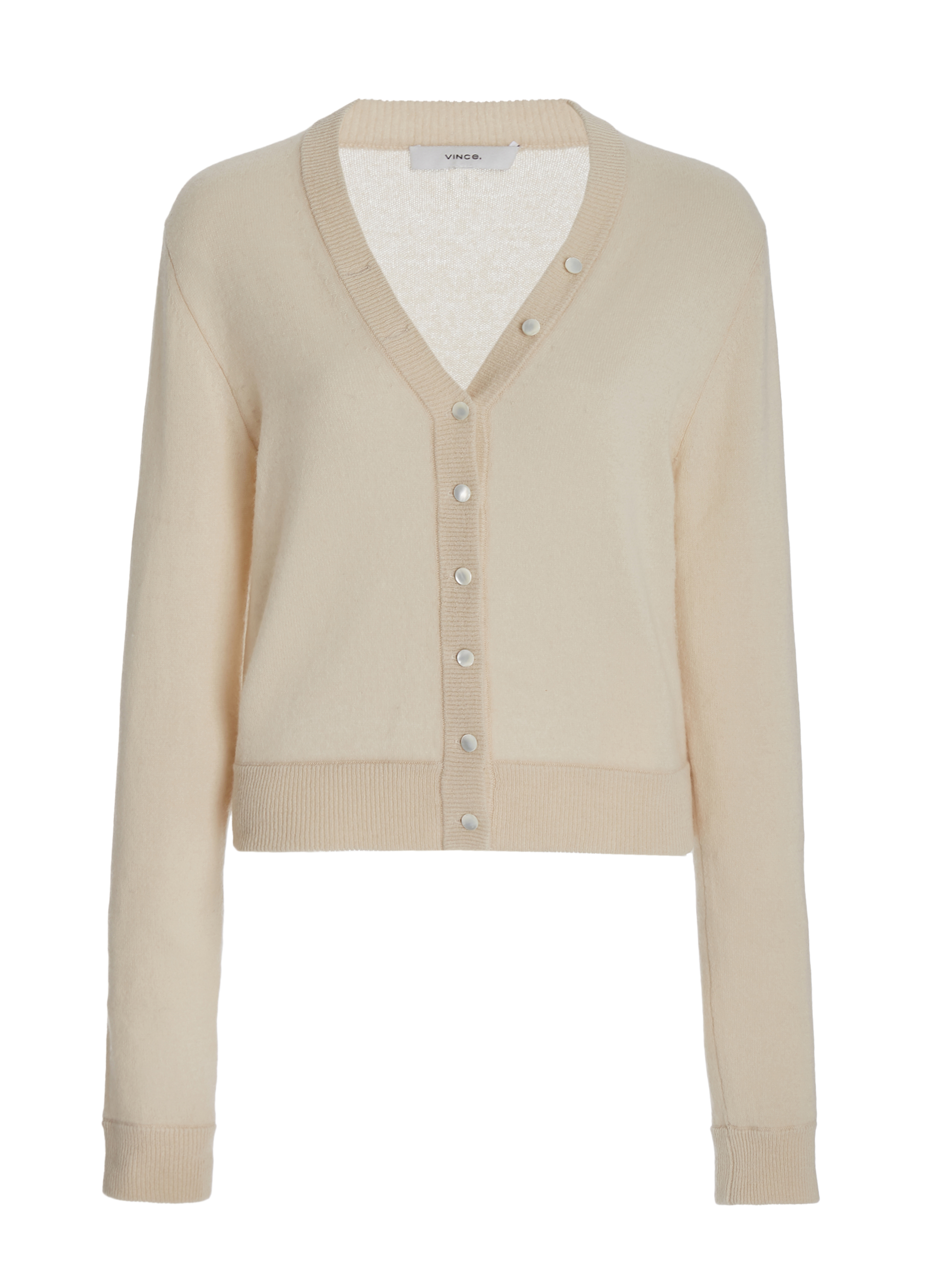 Cashmere Buttoned Cardigan