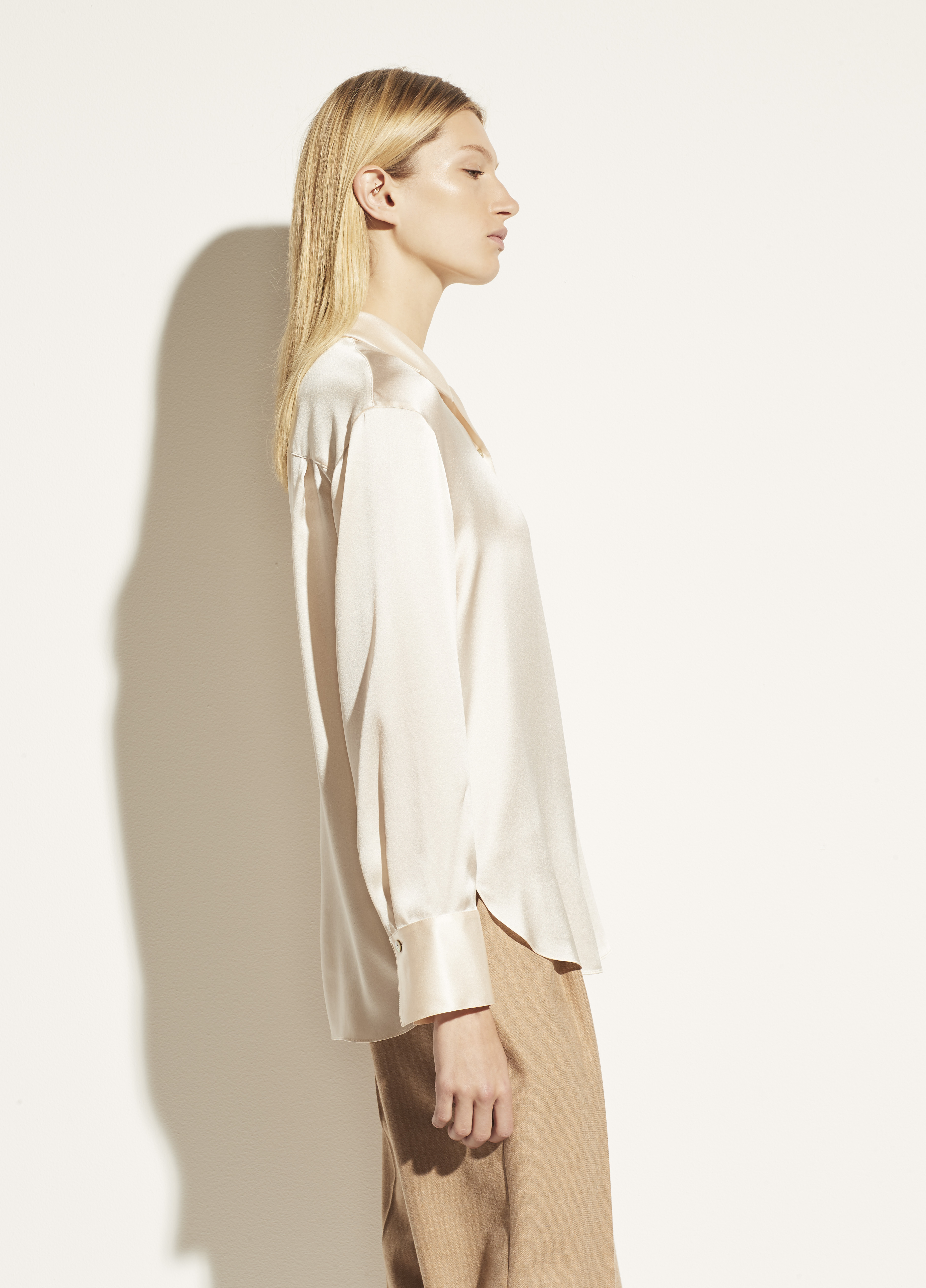 Stand Collar Blouse