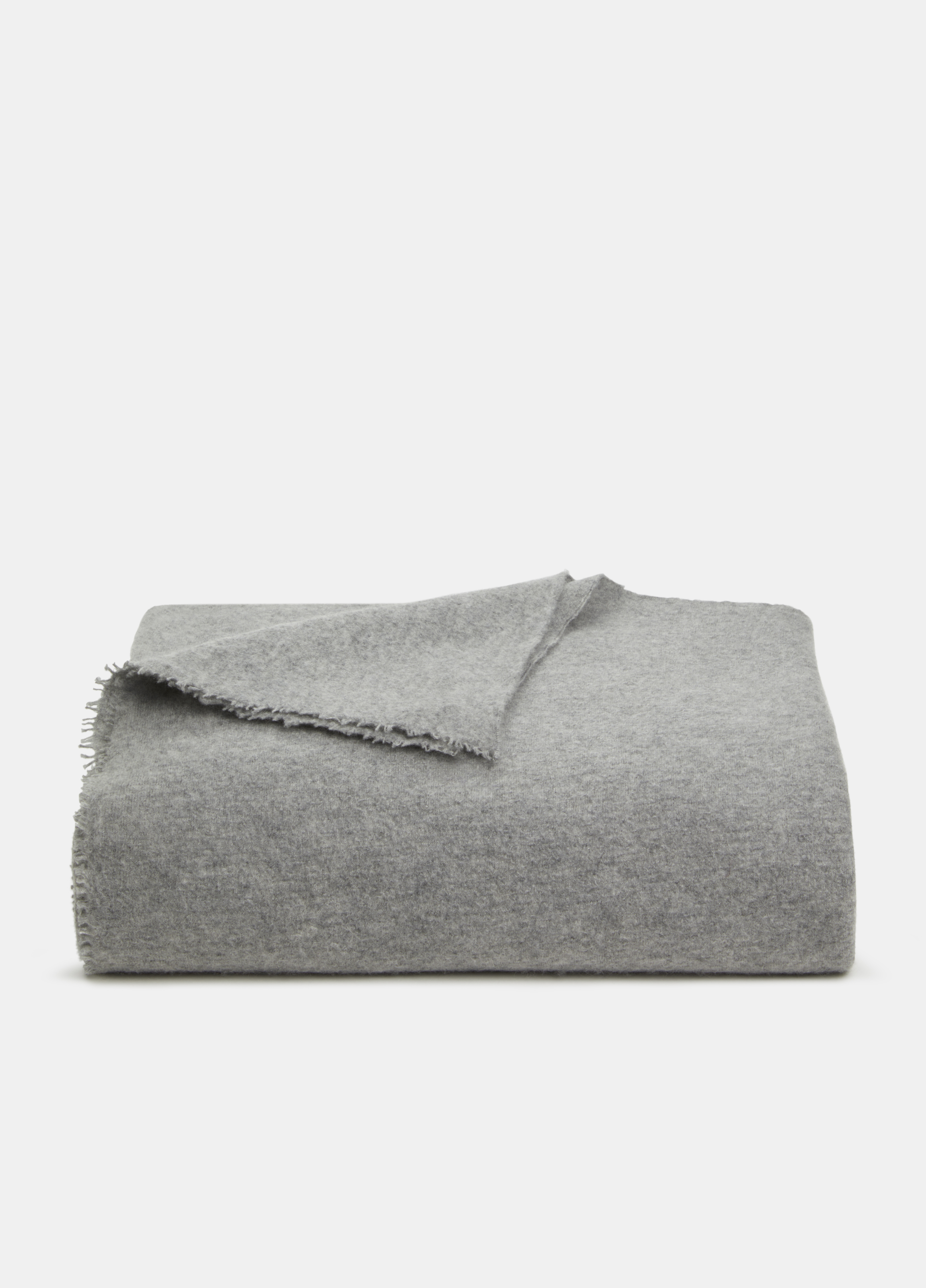 Boiled Cashmere Lounge Blanket