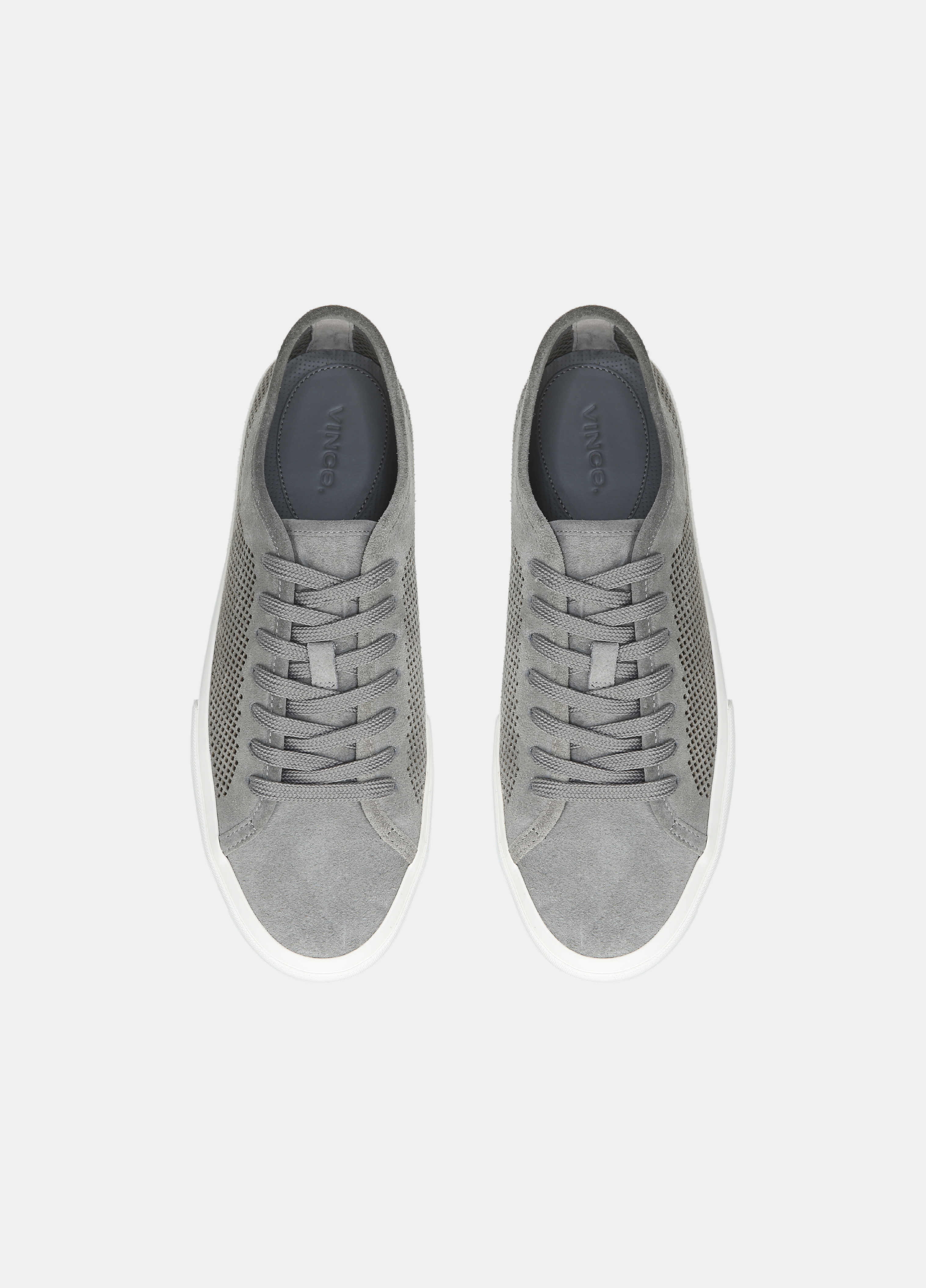 Farrell Perforated Suede Sneaker