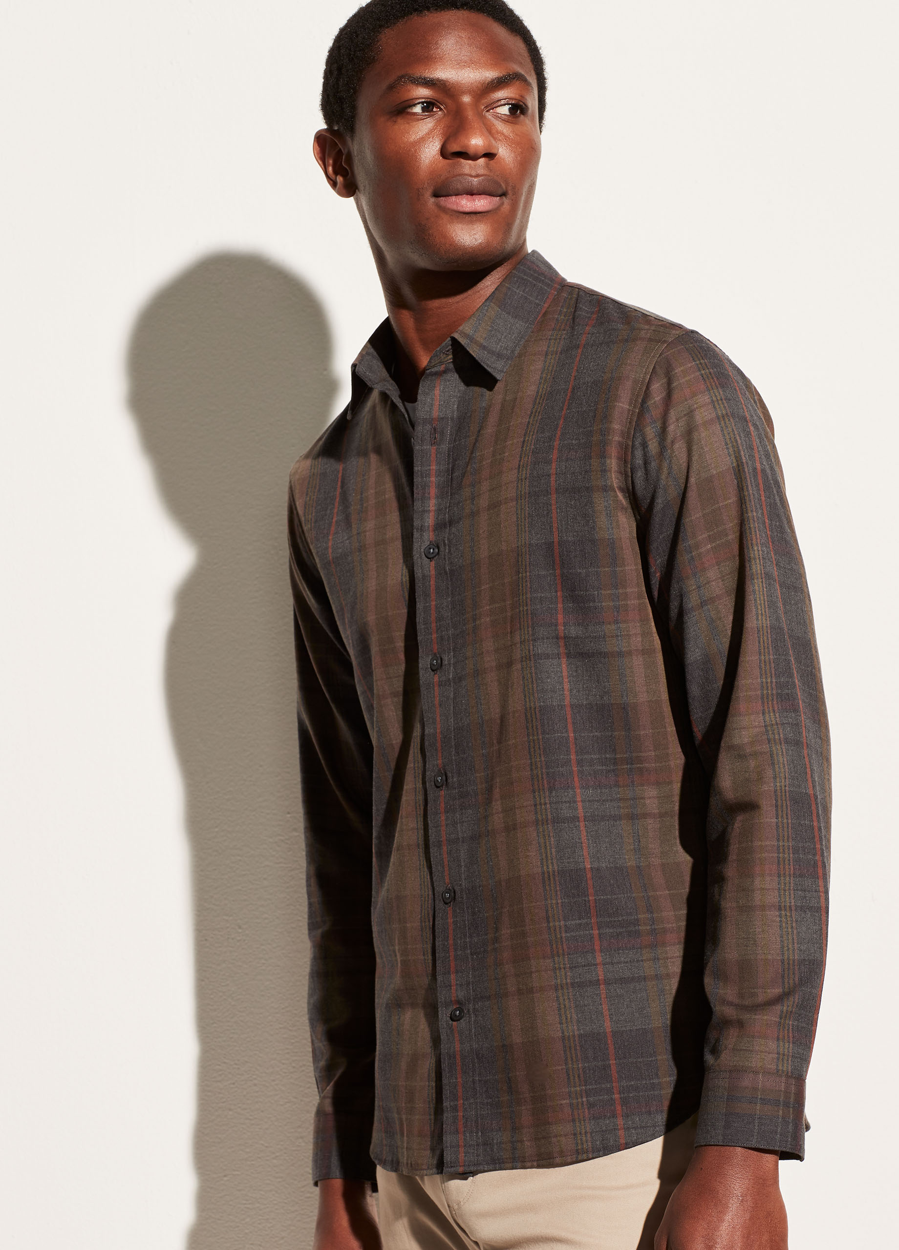 Forest Plaid Long Sleeve