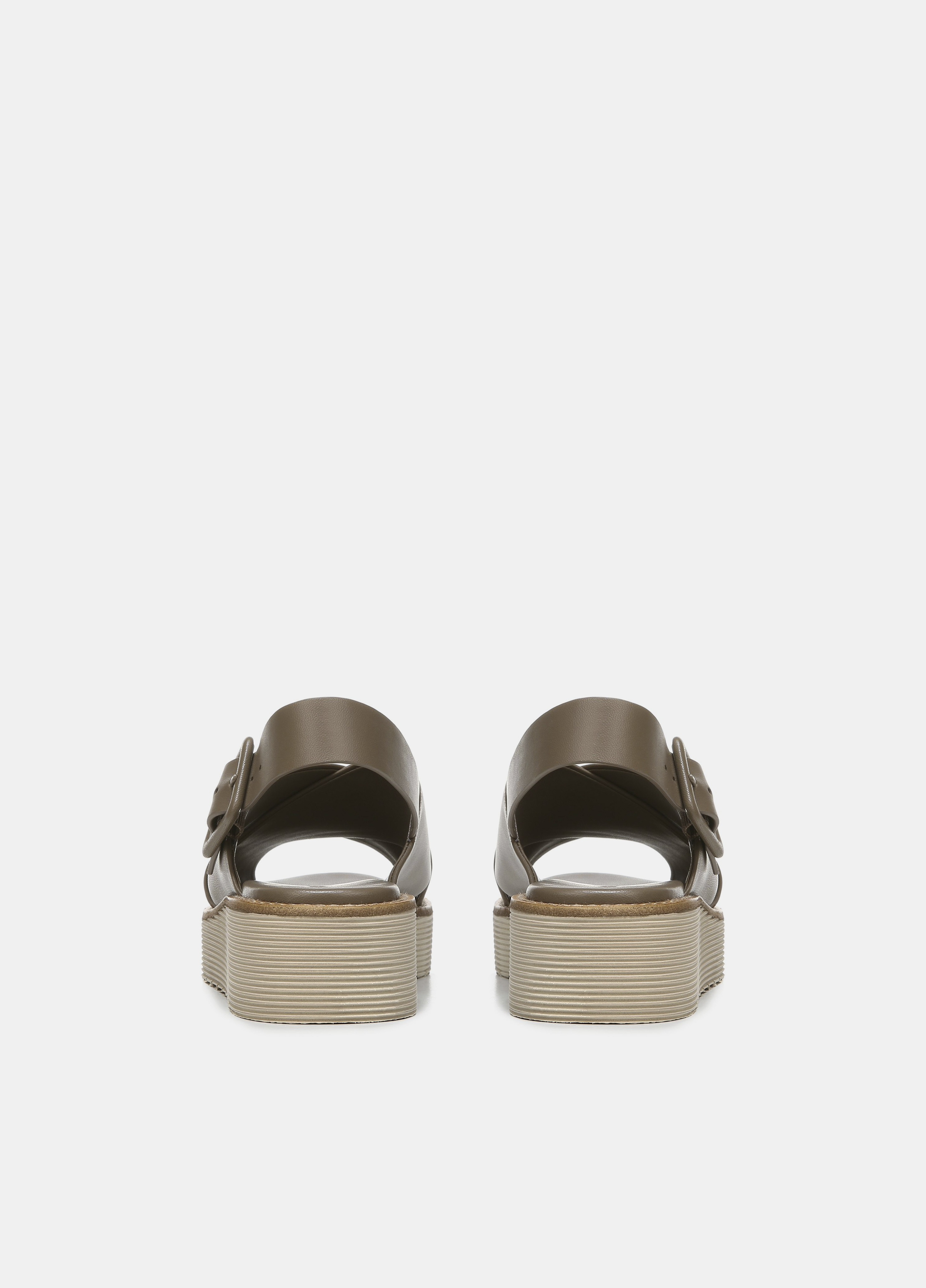 Zena Leather Platform Sandal