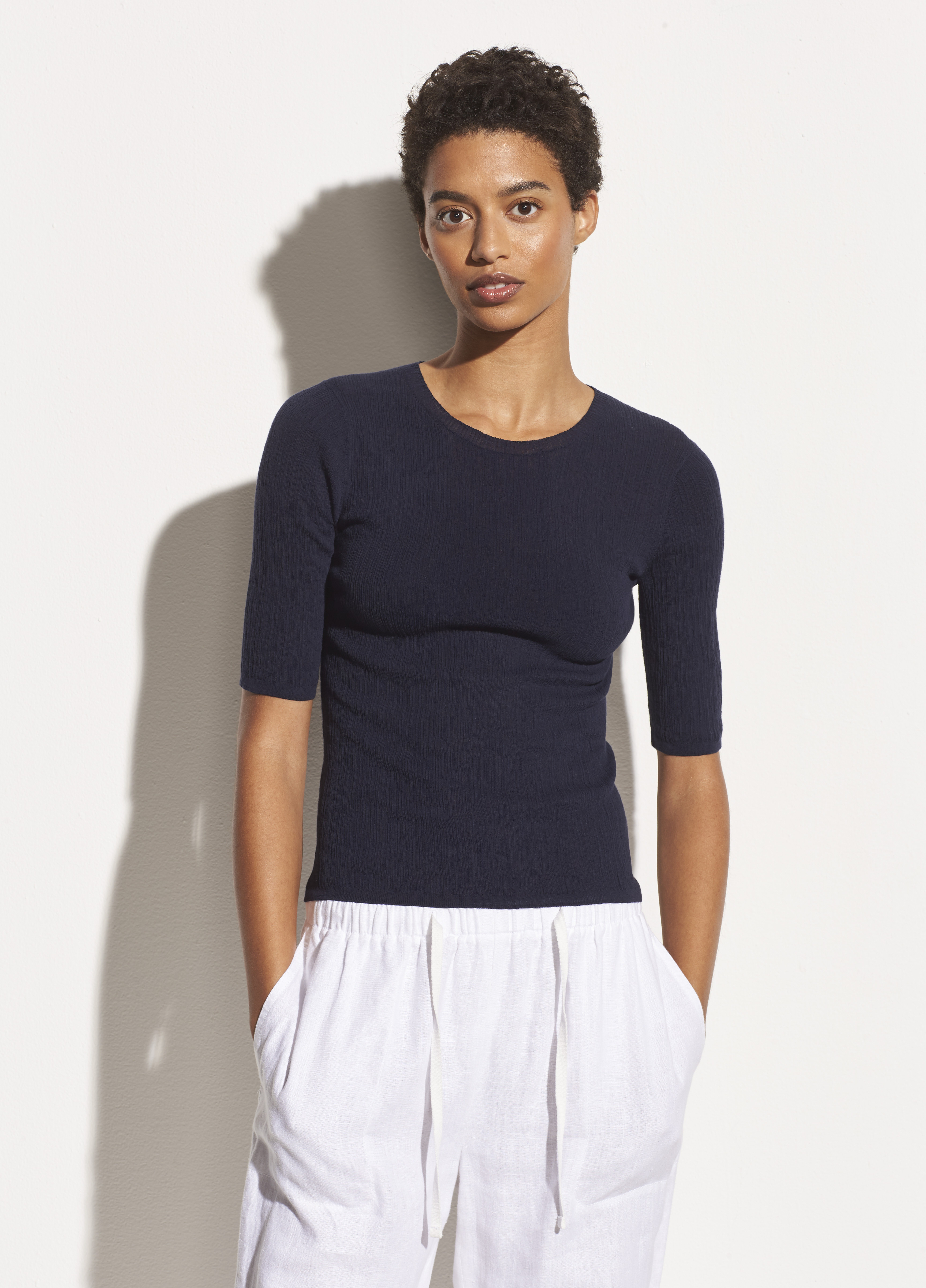 Broomstick Pleat Pullover