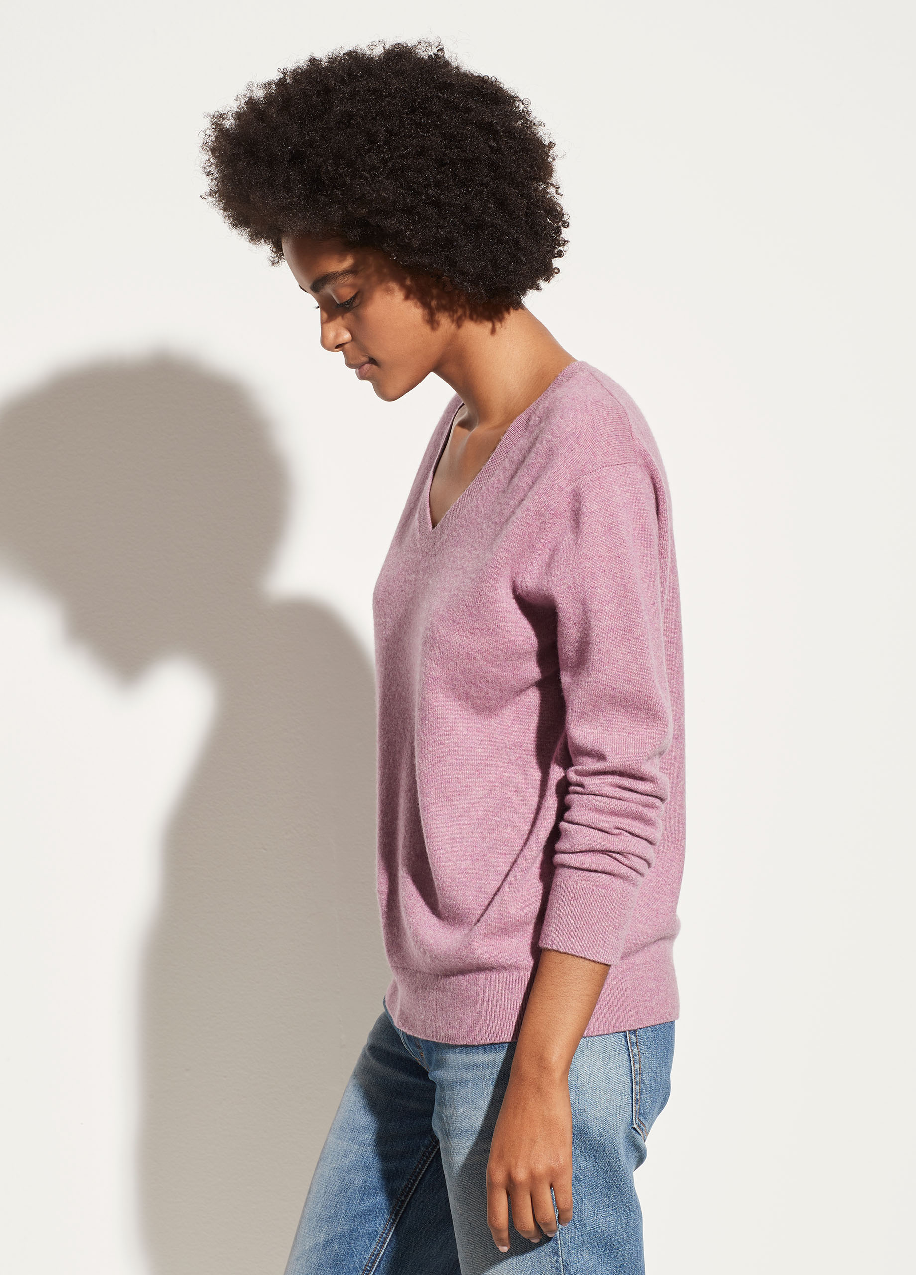 Cashmere Weekend V-Neck