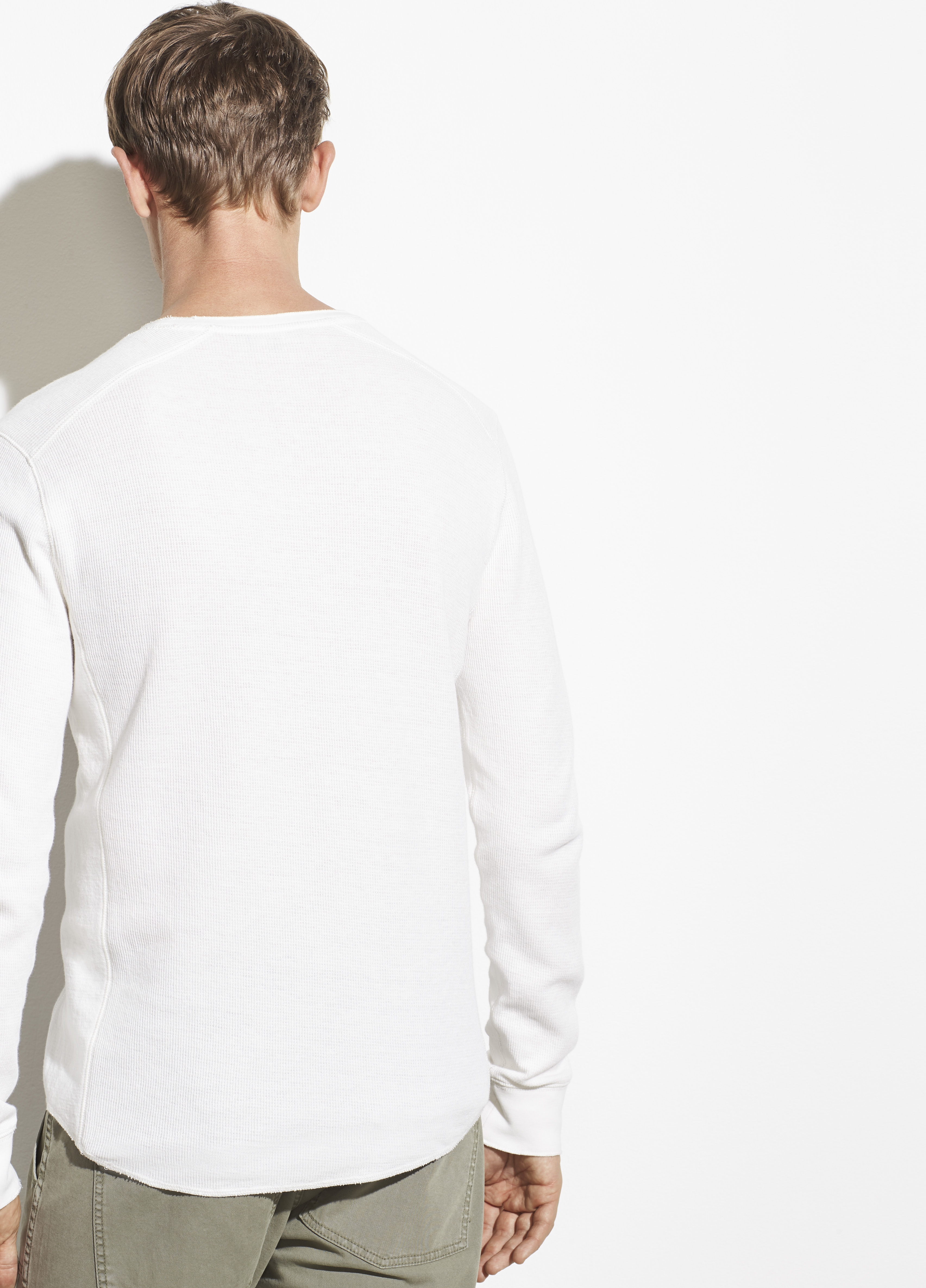 Double Knit Long Sleeve Crew