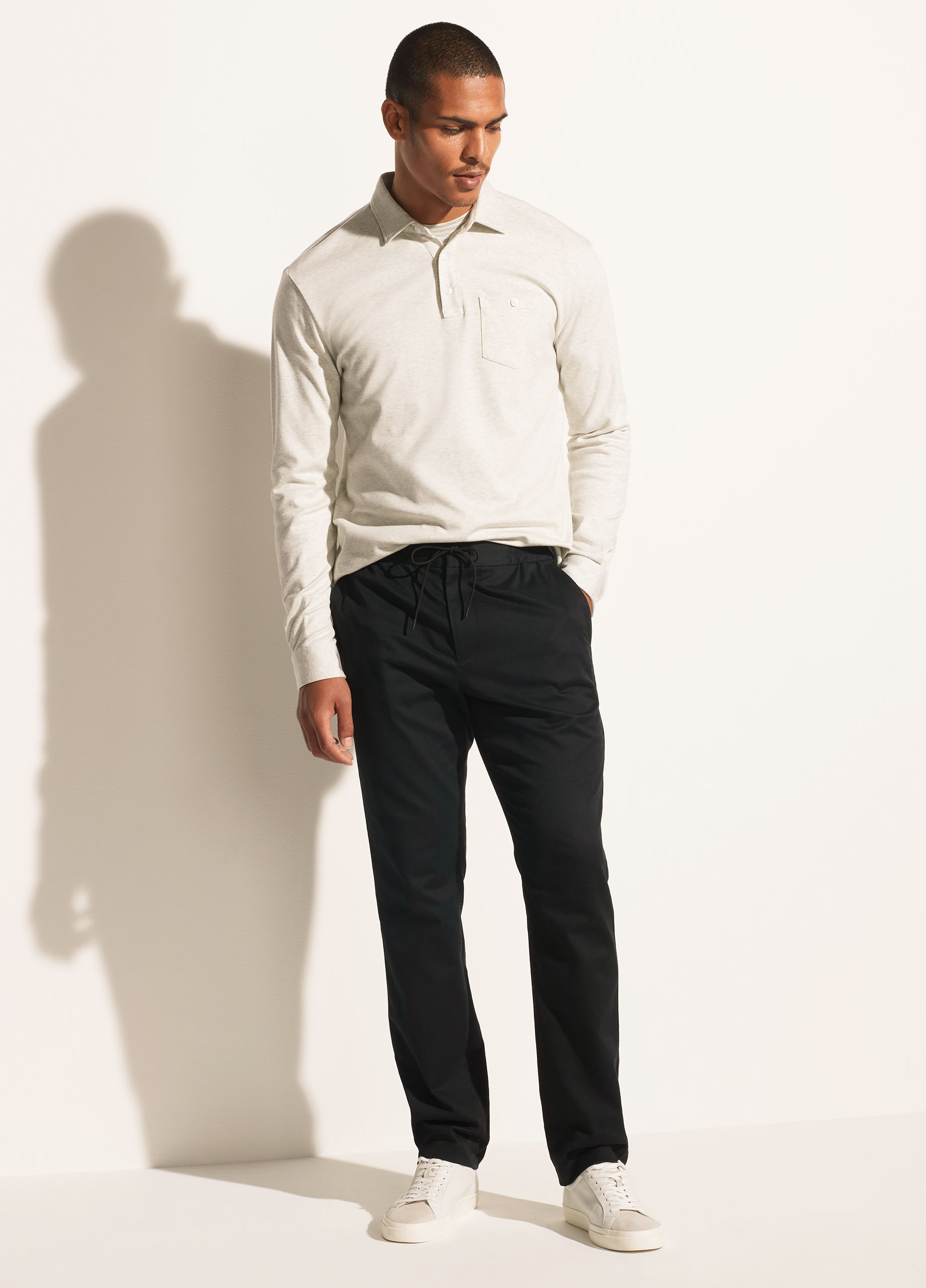 Cotton Twill Pull On Pant