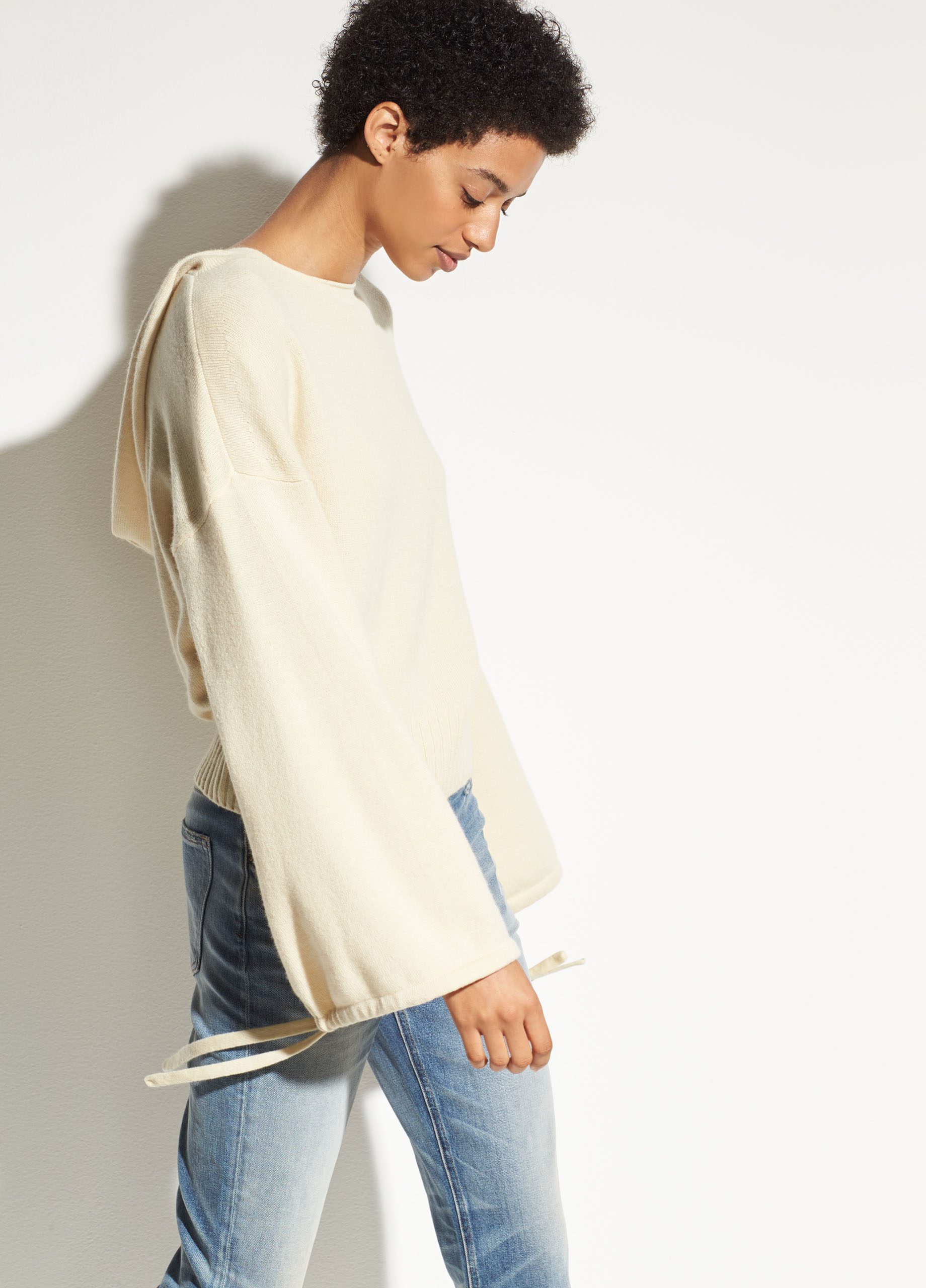 Wide-Leg Wool and Cashmere Crop