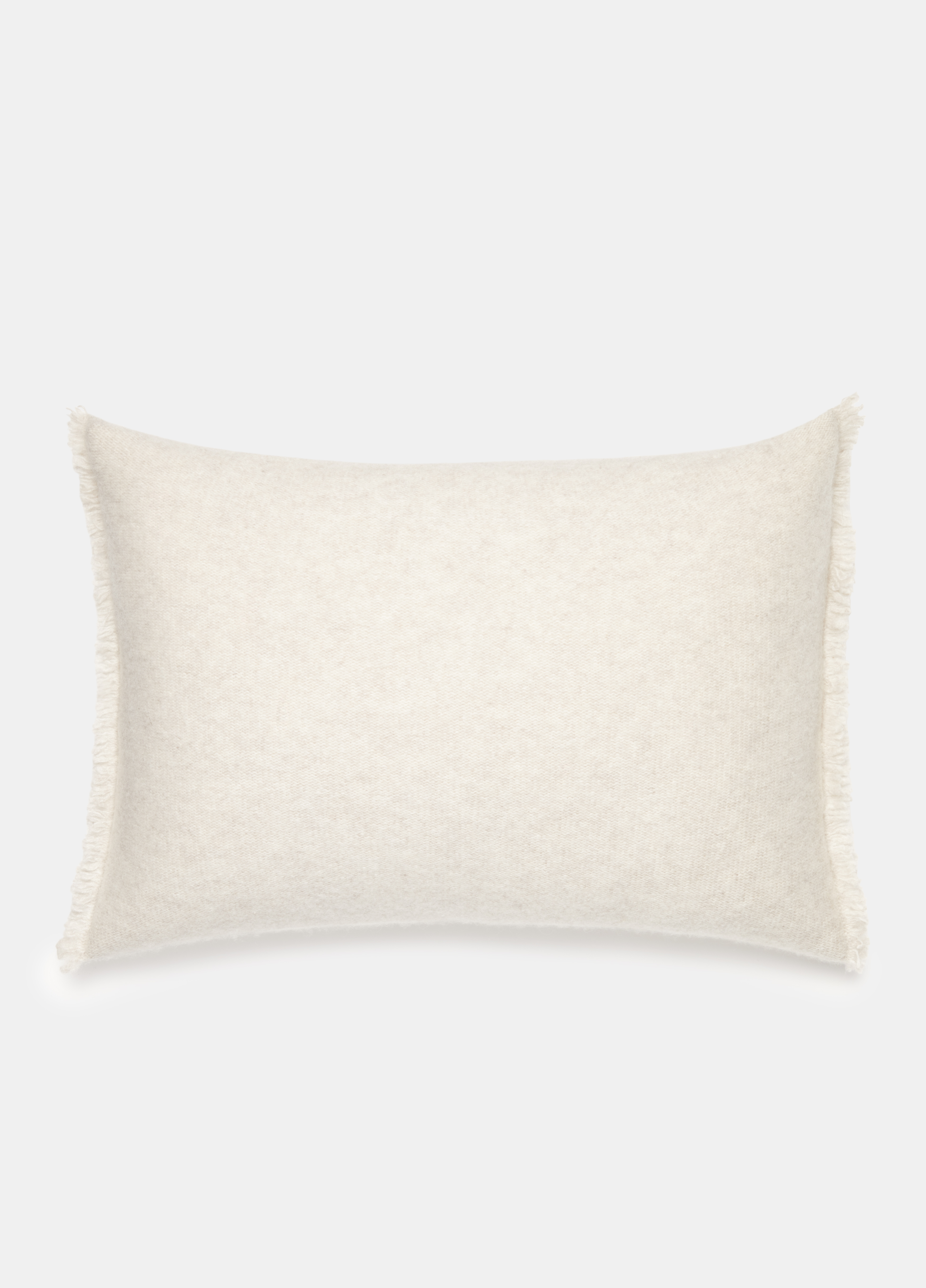 Boiled Cashmere Rectangle Pillow