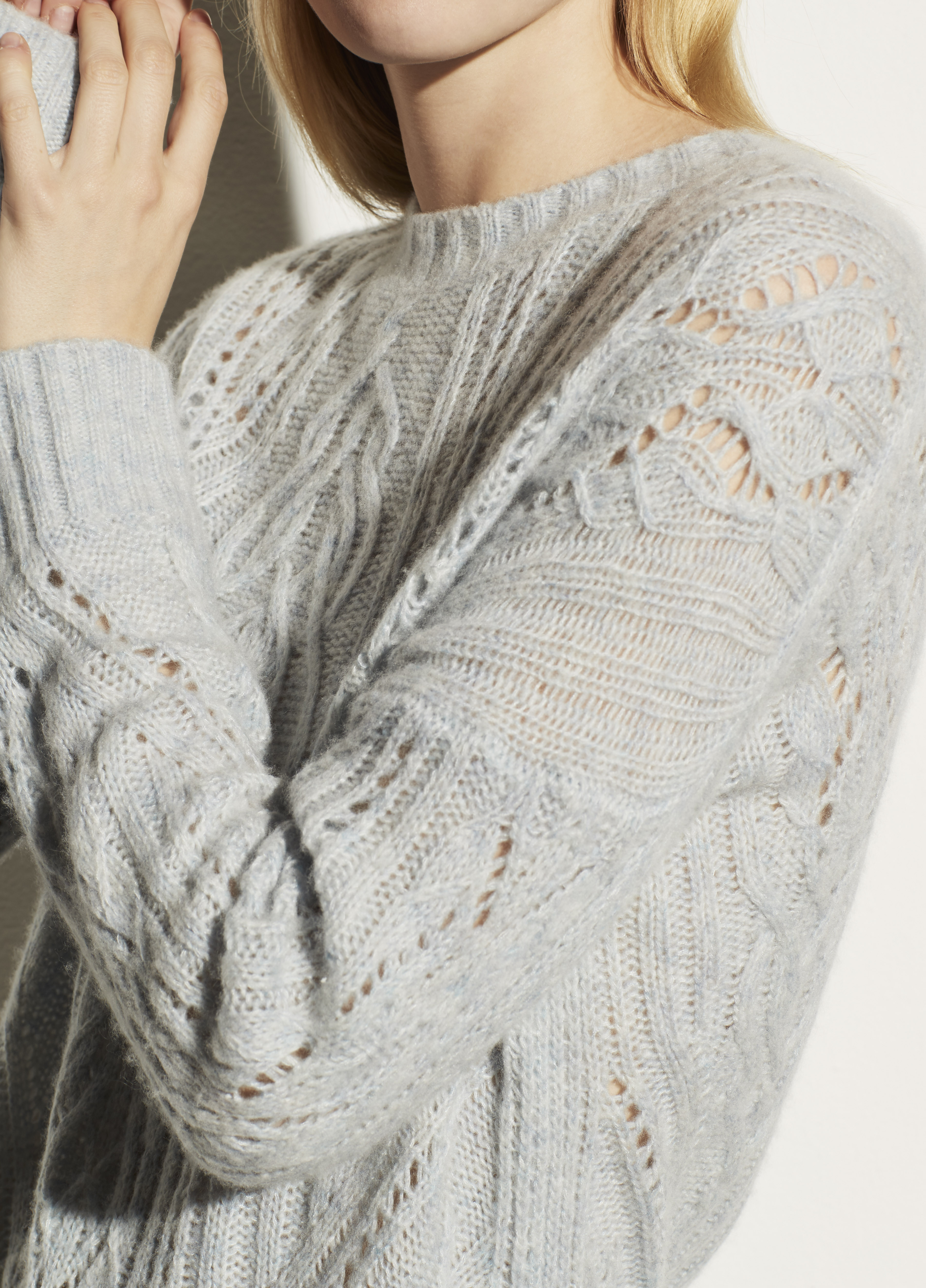 Textured Cable Tunic