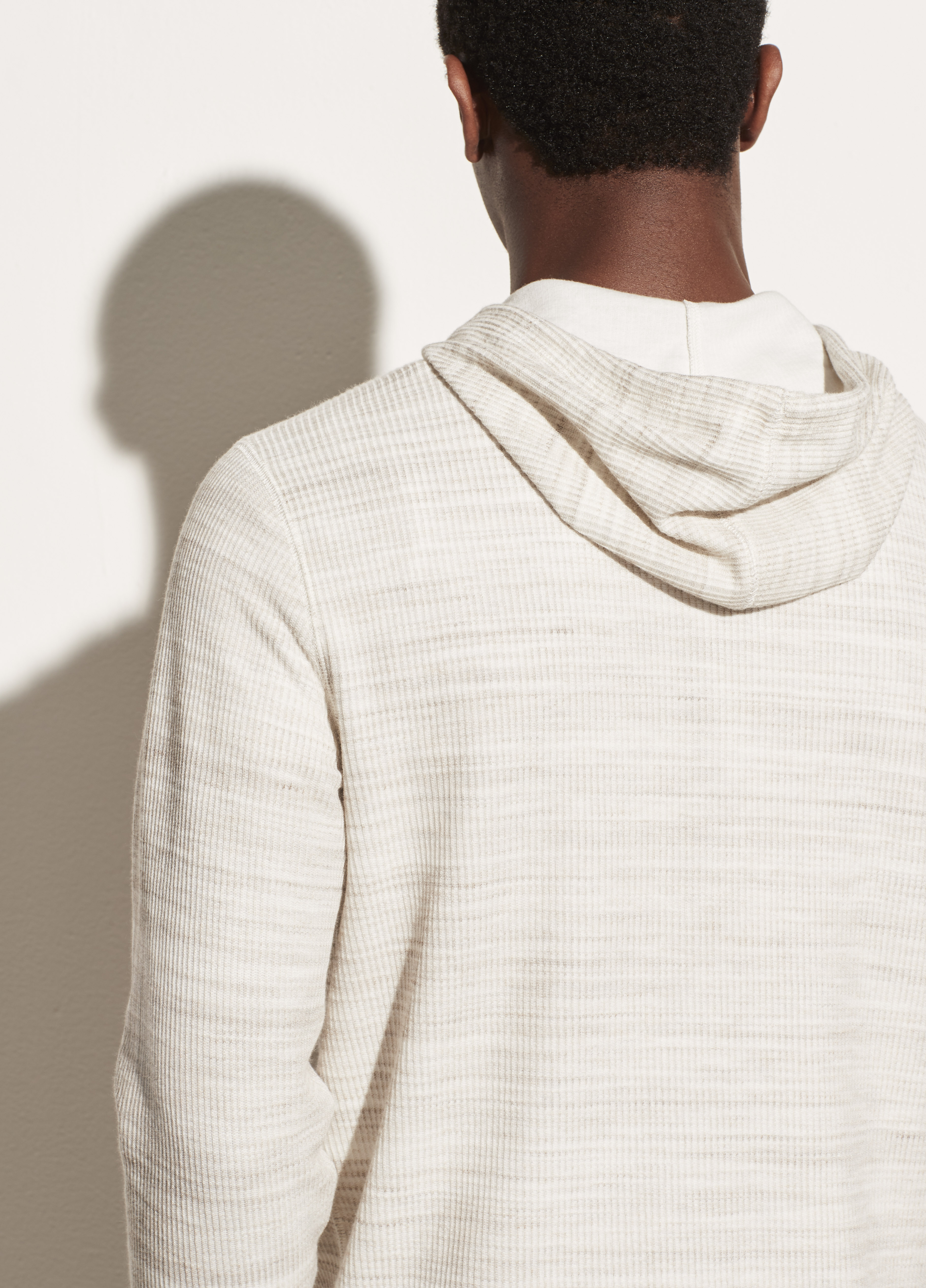 Heather Thermal Popover Hoodie