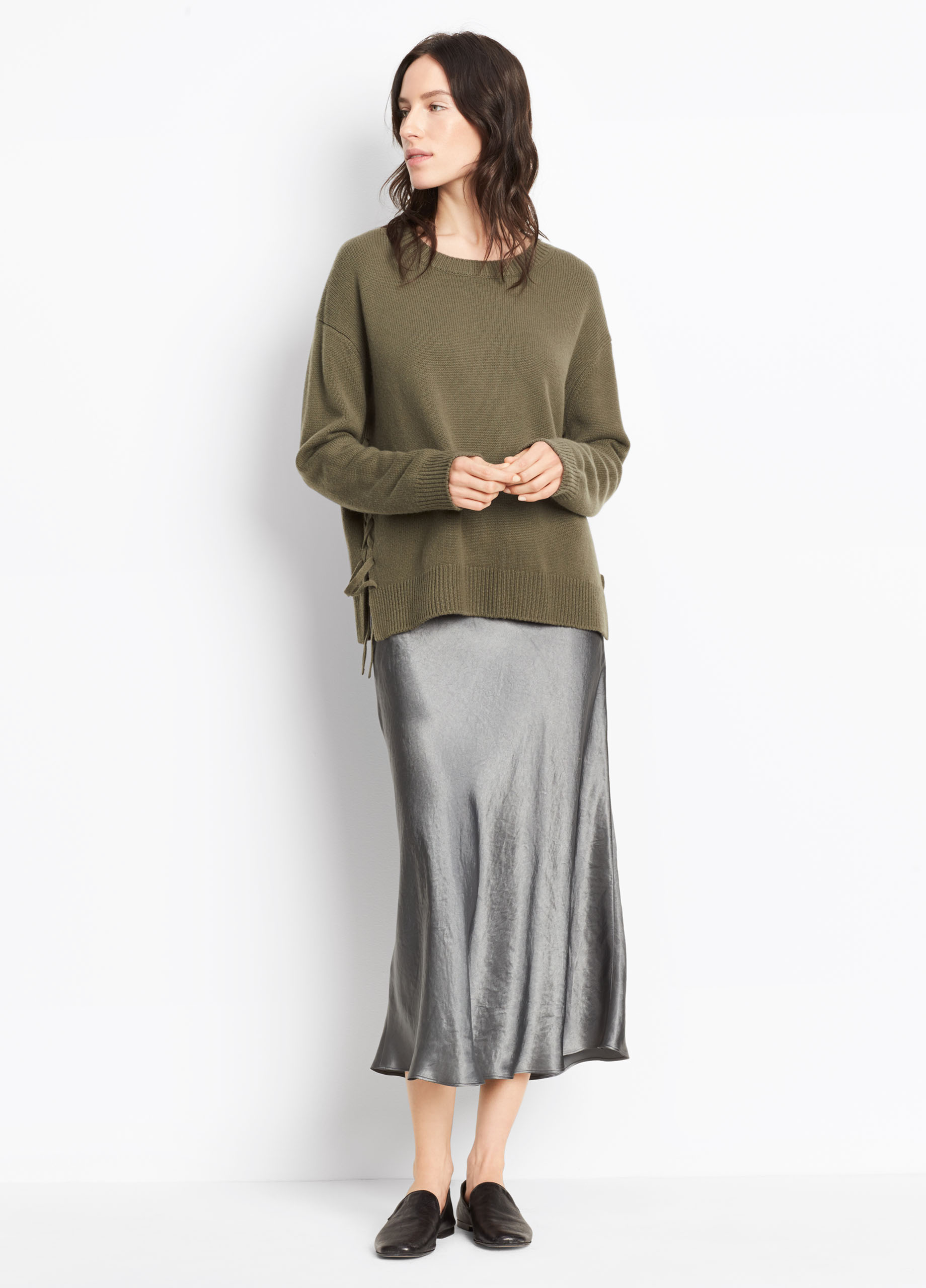 Chunky Cashmere Sleeveless Turtleneck