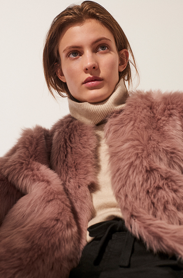 Cropped Shearling Jacket Fall 2018 Collection for Women