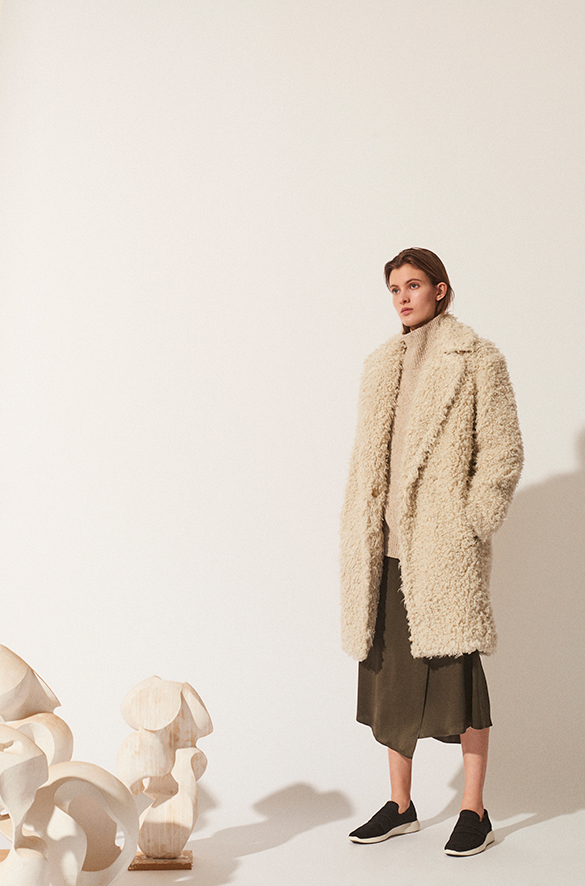 Shaggy Coat Fall 2018 Collection for Women
