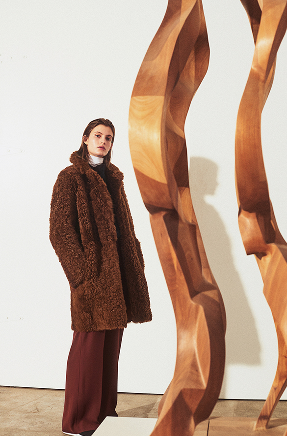 Reversible Shearling Coat Fall 2018 Collection for Women
