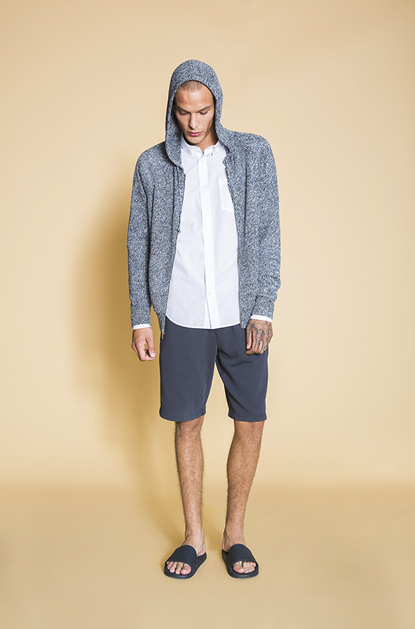 Classic Linen and Wool Bomber Vince Pre-Order for Men