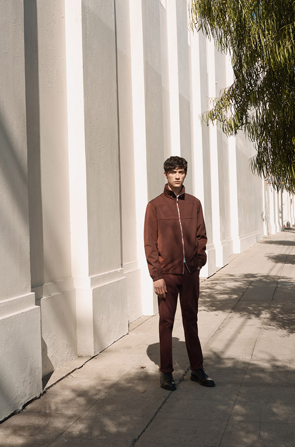 Zip Front Jacket Prefall 2018 Collection for Men