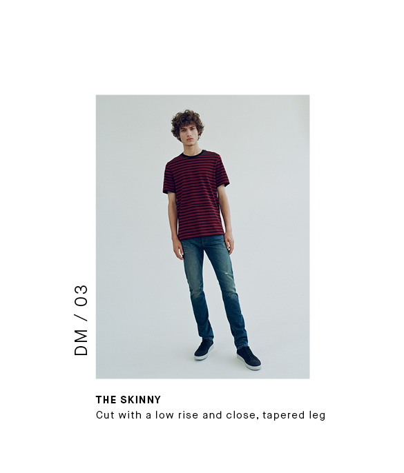 The 5 Pocket Skinny Vince for Men