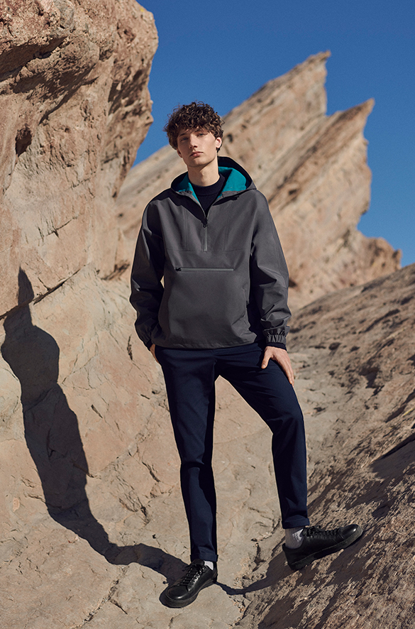 Packable Anorak Jacket Pre Spring 2018 Collection for Men