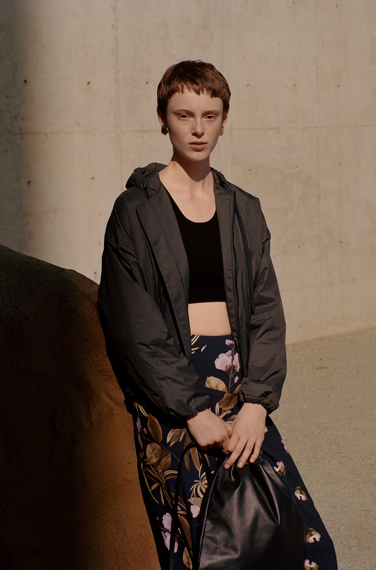 Nylon Hoodie Jacket Pre Fall 2019 Collection for Women