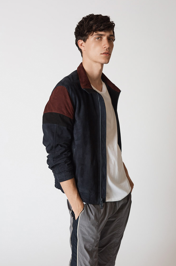 Color-Block Track Jacket Prefall 2018 Collection for Men