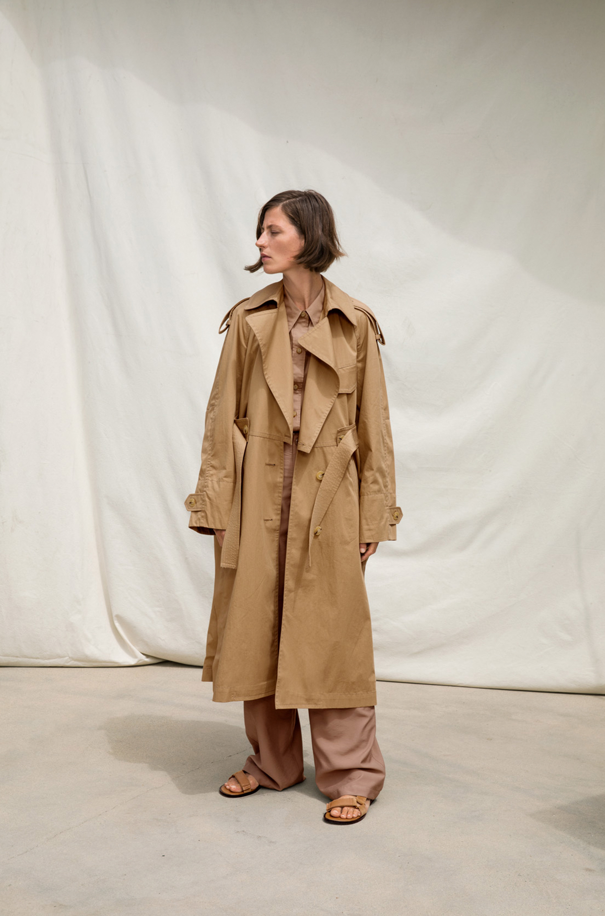 Cotton Trench Spring 2019 Collection for Women
