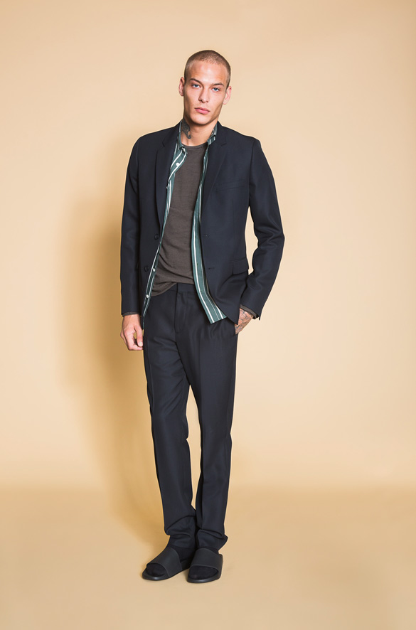 Relaxed Half-Lined Blazer Vince Spring Pre-Order for Men