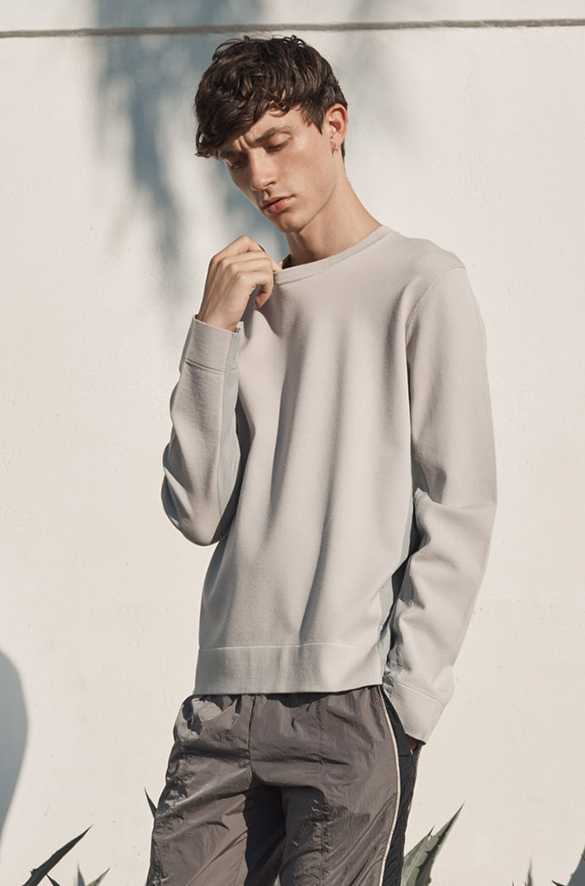 Mixed Media Crew Prefall 2018 Collection for Men